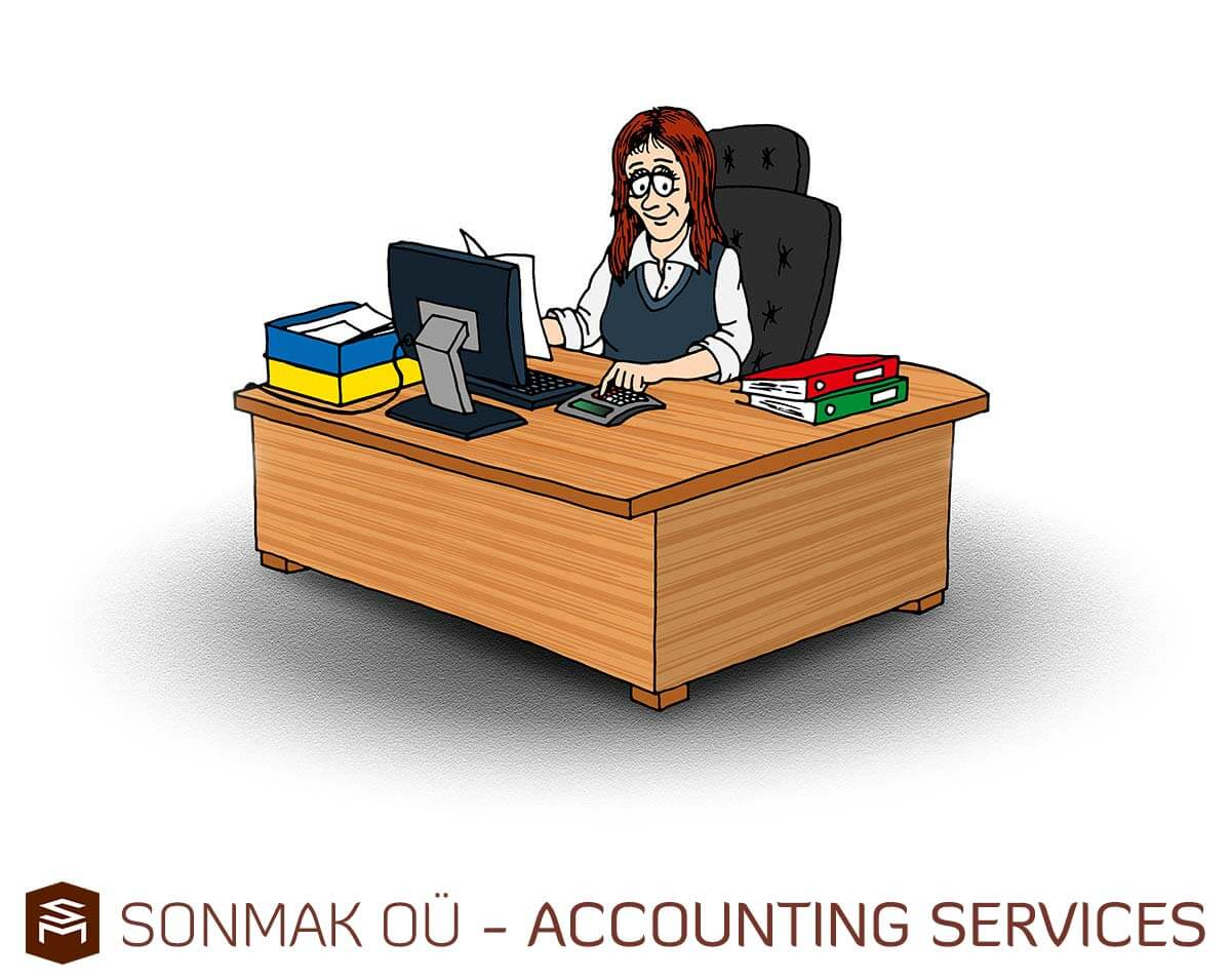 Sonmak OÜ bookkeeping, Accounting services